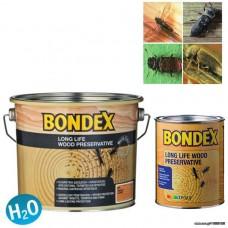 Διαφανές υδατοδιαλυτό συντηρητικό ξυλείας, που παρέχει προστασία μακράς διαρκείας από τα έντομα και τους μύκητες BONDEX