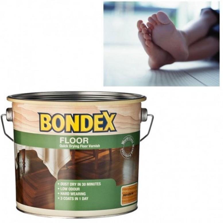 Άχρωμο, υδατοδιαλυτό βερνίκι για ξύλινα πατώματα και όλες τις ξύλινες επιφάνειες μέσα στο σπίτι, όπου χρειάζεται υψηλή αντοχή στις τριβές και τα απορρυπαντικά BONDEX