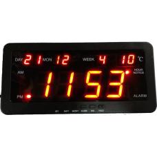 Ψηφιακό Ρολόι-Πινακίδα Led Με Θερμόμετρο κ Ημερολόγιο OEM 2153