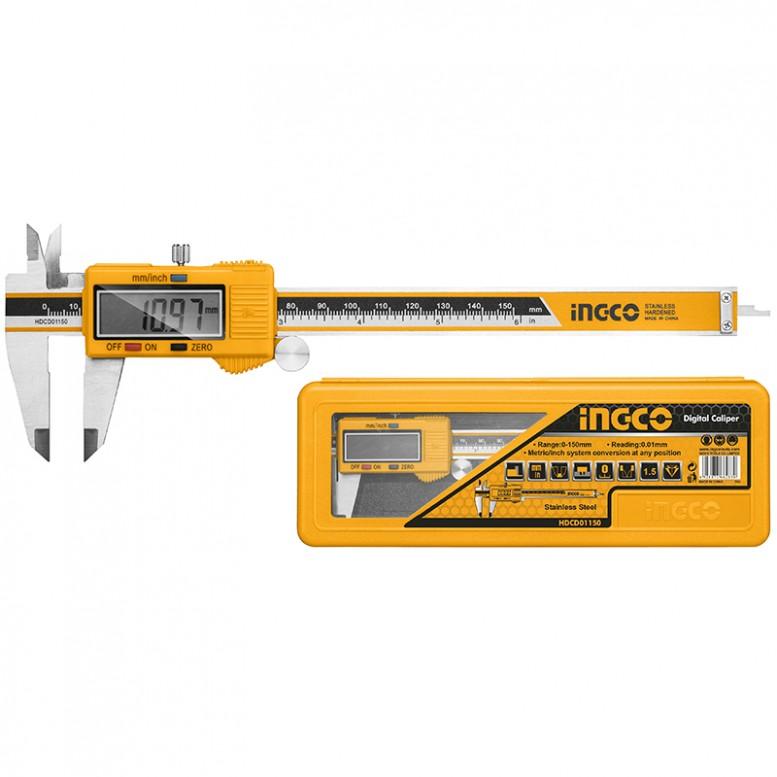Ηλεκτρονικό Παχύμετρο 0-150mm HDCD01150 INGCO
