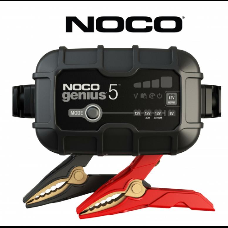 NOCO Genius 5 Φορτιστής και Συντηρητής Μπαταριών 6V & 12V 5A