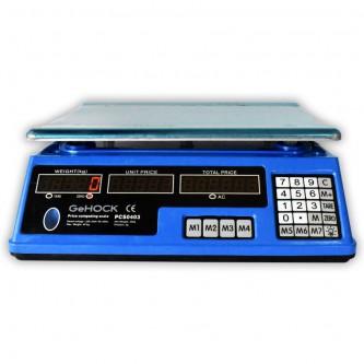 Επιτραπέζια ηλεκτρονική ζυγαριά 40kg D225648(ΖΥΓΙΖΕΙ ΑΠΟ 2 ΓΡΑΜΜΑΡΙΑ)